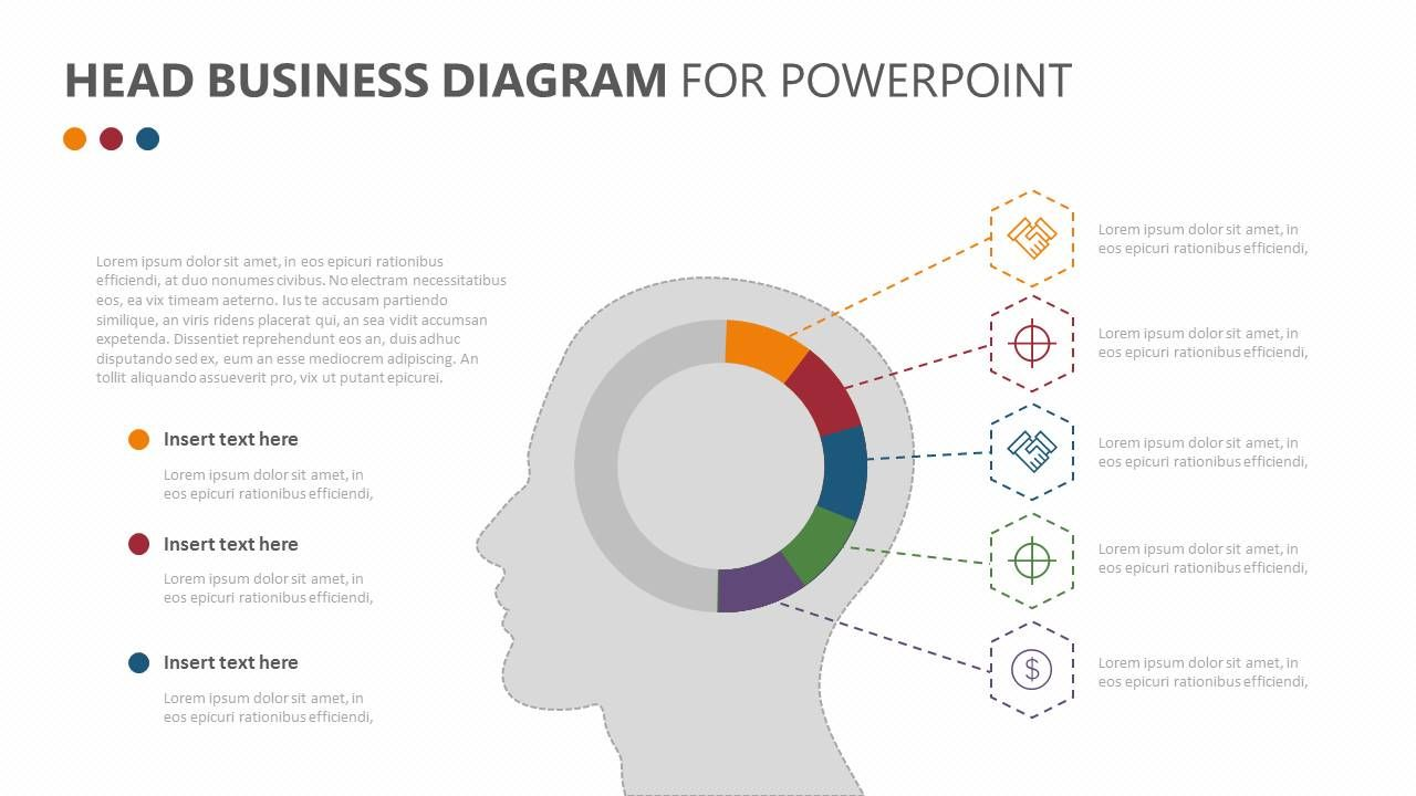 Head business diagram for powerpoint ideal for brainstorming at a head business diagram for powerpoint ideal for brainstorming at a meeting or going over what has ccuart Image collections