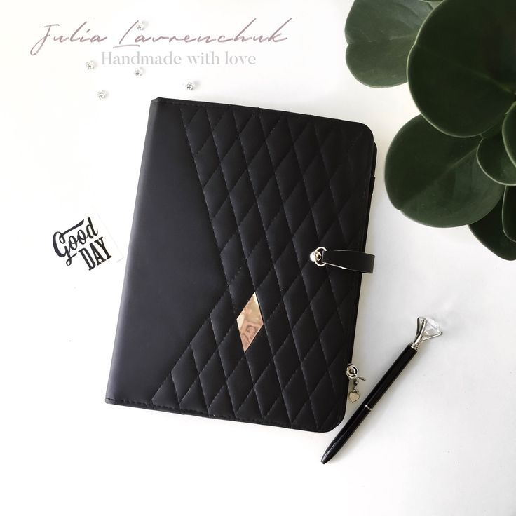 Notebook A5 / A6 In A Leather Substitute/ Planner Binder
