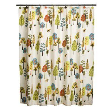 Home Vista Tree Shower Curtain Multicolor 72x72 Target
