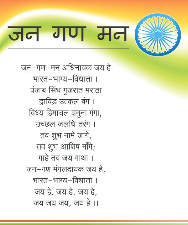 Who Wrote Our National Anthem India Independenceday