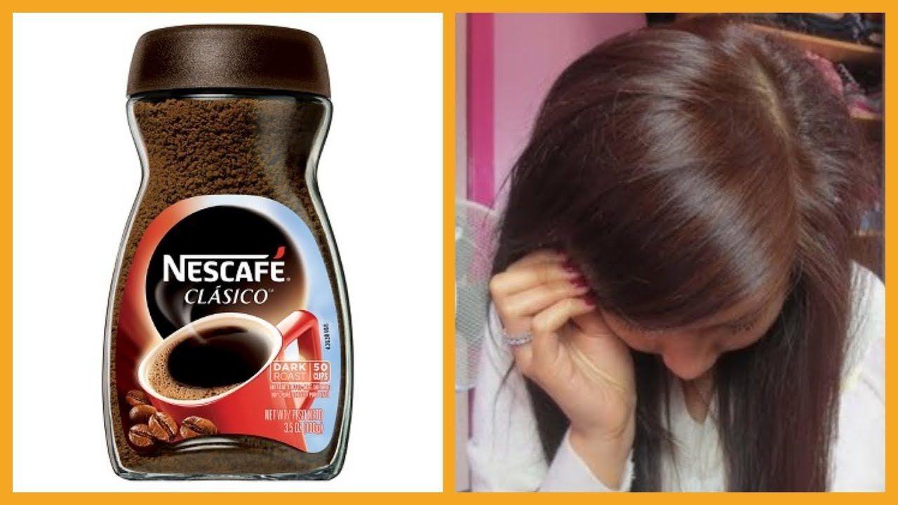 معلقة نسكافيه وتمتعى بلون شعر بنى رائع وتغطية مثالية للشيب لون رائع من اول استعمال فقط Youtube Hair Care Recipes Beauty Skin Care Routine Body Skin Care