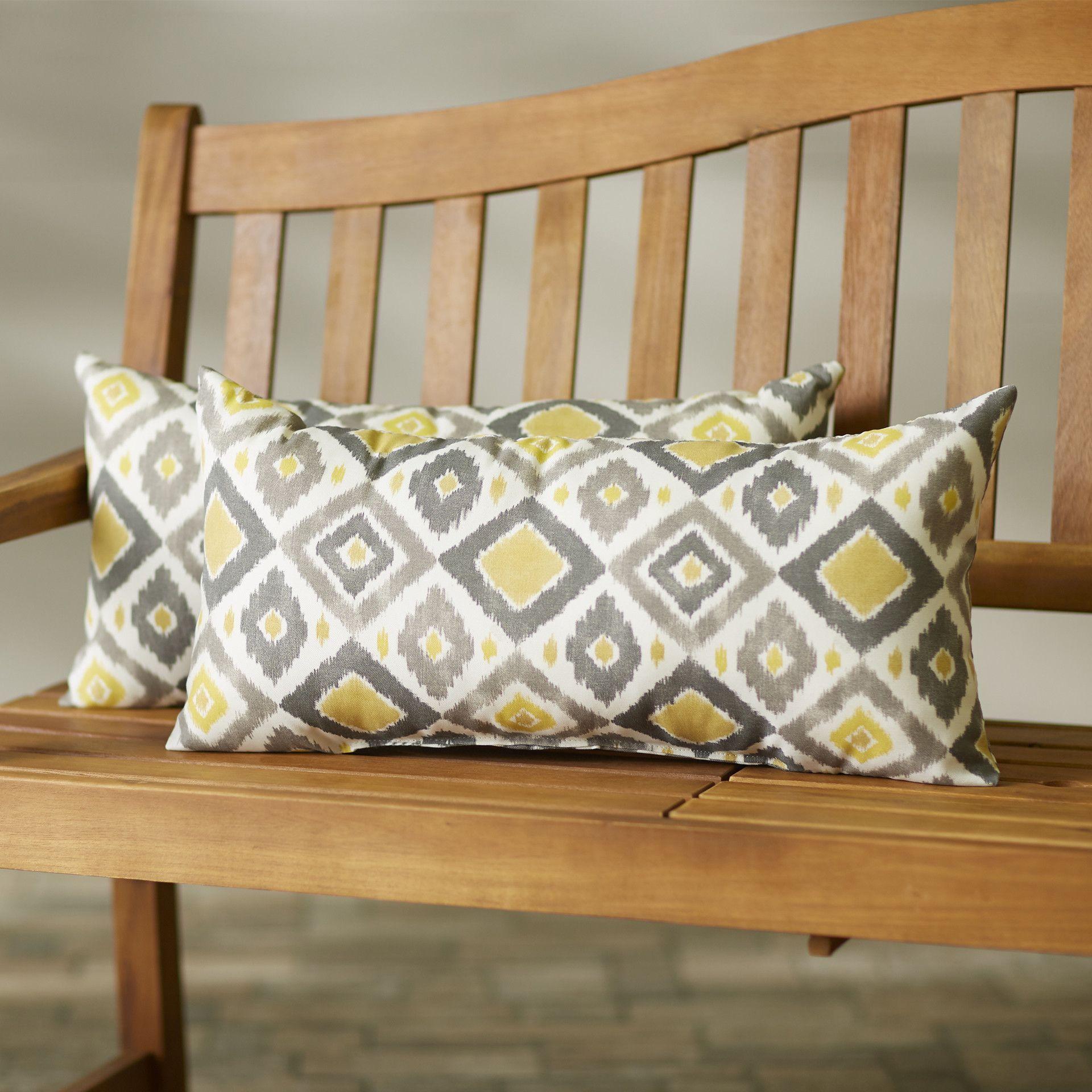 Mellah Indoor/Outdoor Lumbar Pillow | Wayfair.ca