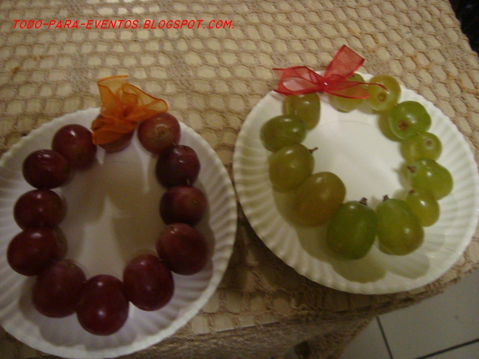 ARREGLOS DE ANO NUVO | ... originales coronas de uvas para los 12 ...