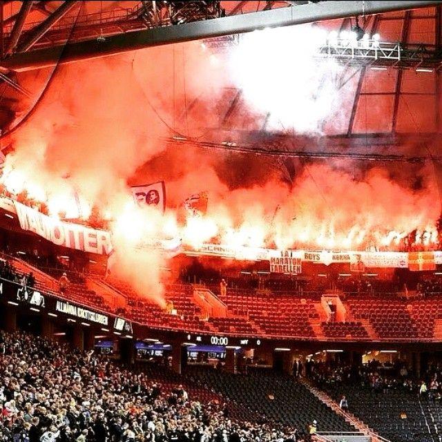 Malmo Ff Away At Aik Stockholm Sweden Ultras Weareultras Malmo Ff Stockholm Sweden