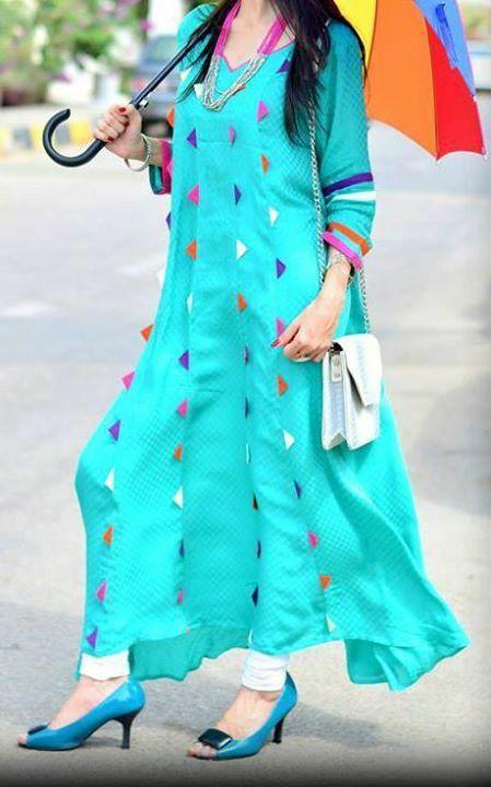 Image result for bright color kurtis