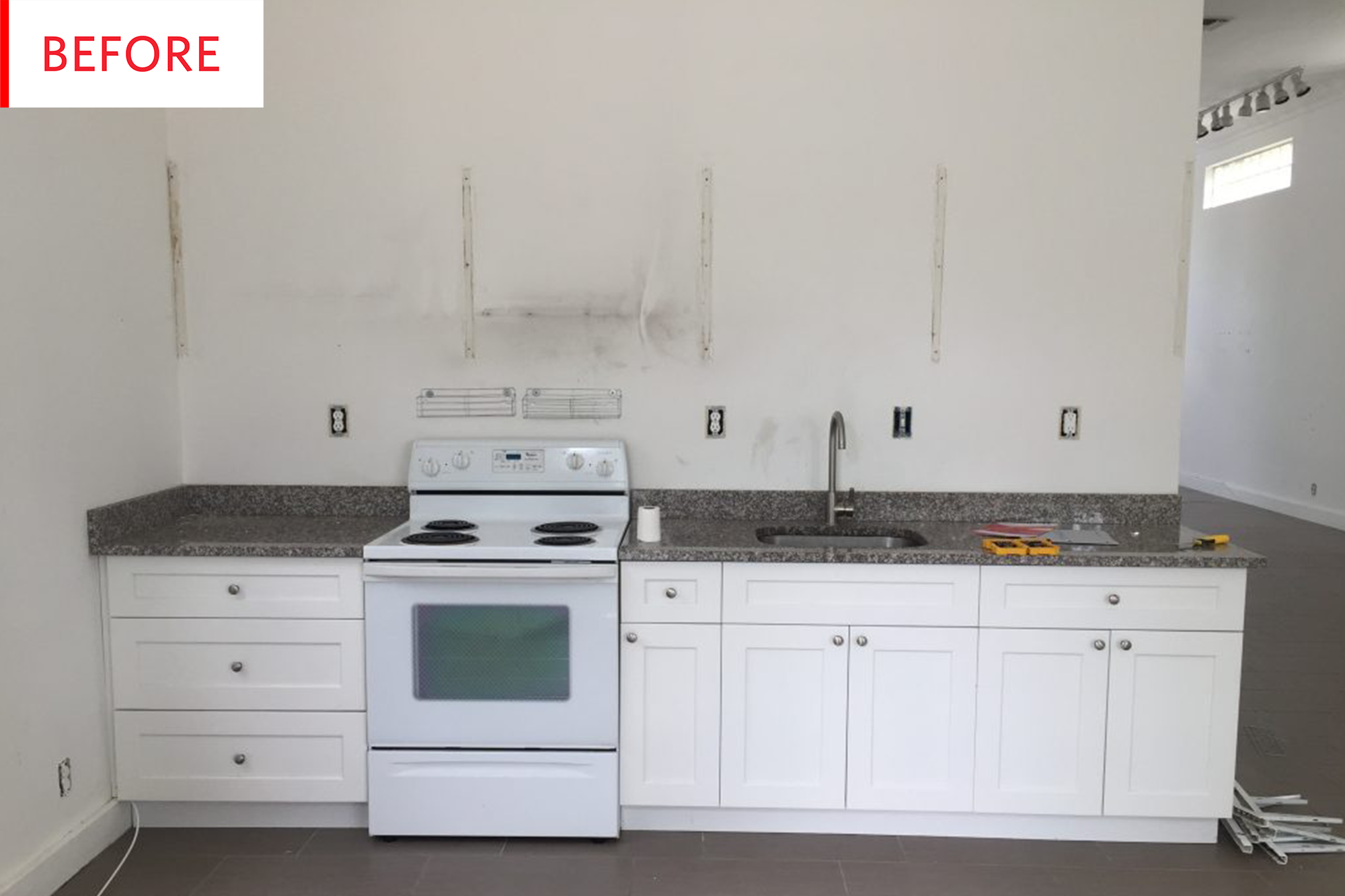 Before And After This Small Kitchen Got One Big Upgrade
