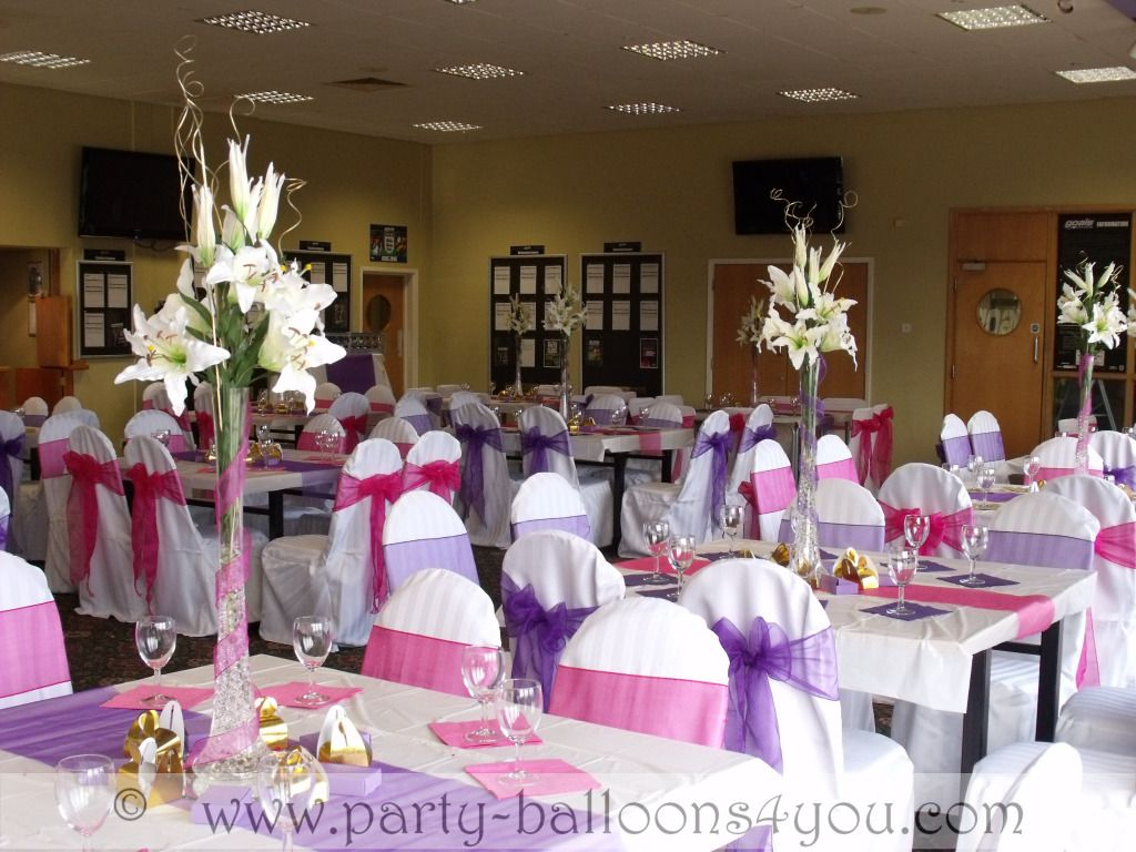 Full Wedding Decorations Packages Bristol
