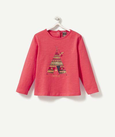 Un tee-shirt de petite squaw ! 8,99 € http://www.t-a-o.com/mode-bebe-fille/tee-shirt/le-tee-shirt-galop-rouge-red-73254.html