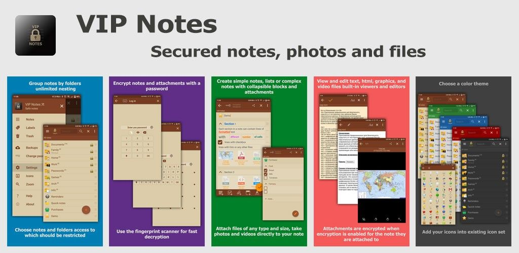 VIP Notes – keeper for passwords, documents, files v9 9 5 Full