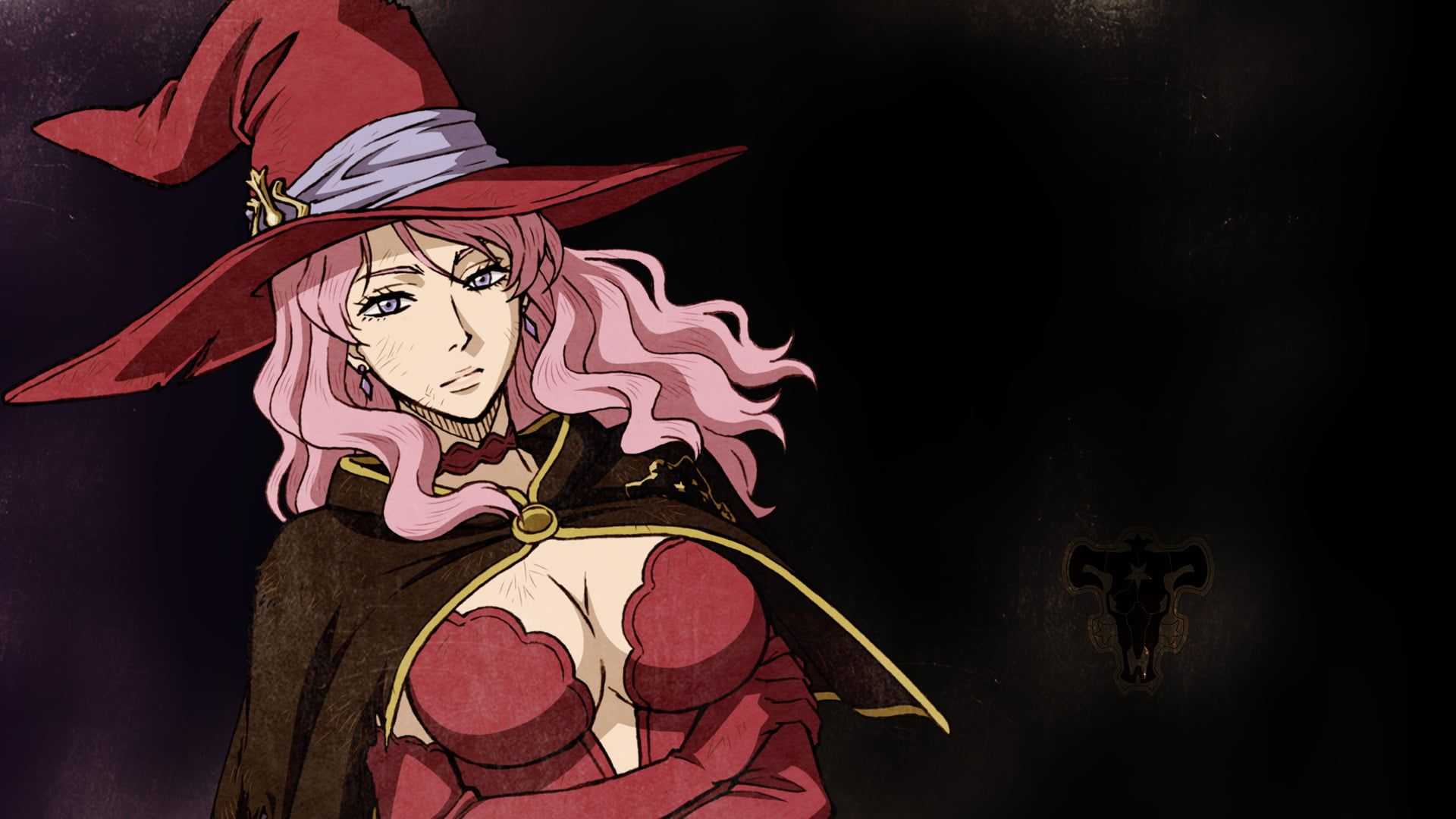 Anime Black Clover Vanessa Enoteca 1080p Wallpaper Hdwallpaper Desktop Black Clover Anime Anime Black Bull
