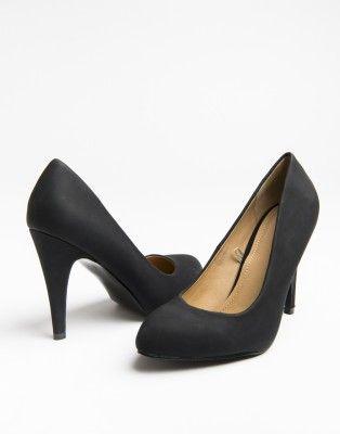"""4"""" Faux-Leather Heels • Ardene"""
