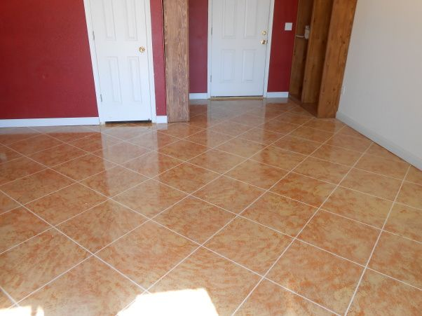 Painting Concrete Floors Inside Our House We Removed The Carpet And Linoleum Form Most Of Our