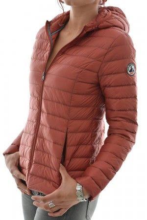 doudounes jott doudoune cloe ml capuche rouge   Mode - accessoires ... 7c2e2795521f