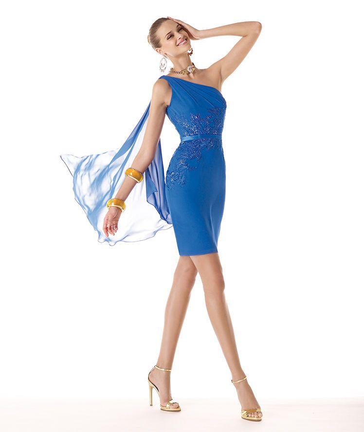 00fa57e2ad2 Pronovias präsentiert Ihnen das Modell Regny aus der Kollektion Festkleider  2014.