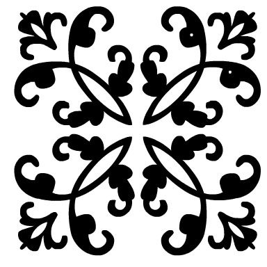 Simple Black And White Diy Stencil Wall Art Stencils Wall Stencil Wall Art Stencil Patterns