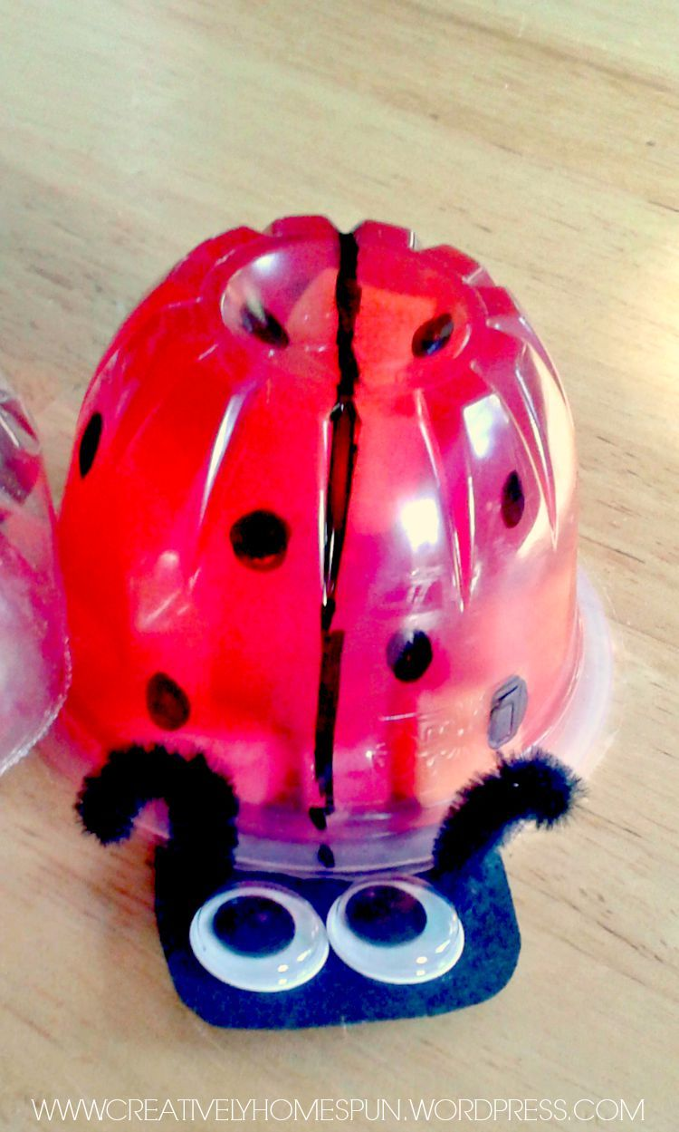 Ladybug Jello Cup