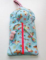 Cinnamoangels (Pinkkisfun) Tags: blythe carrier cinnamoroll sleepsack