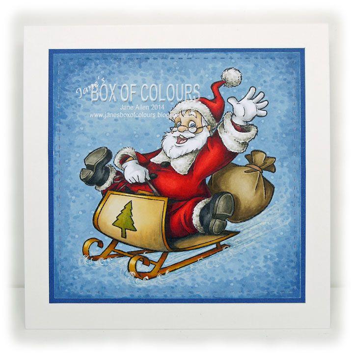 Box of Colours: Santa