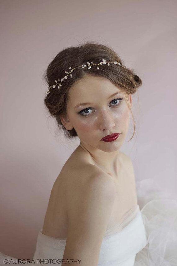 Pearl Vine Wedding Hair Vine 991291e17157