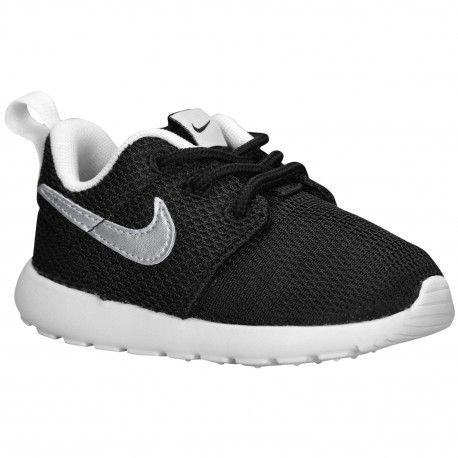 nike roshe run mens running shoes - black whitetail