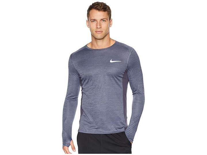 0fea178acaab1f Nike Dry Miler Long Sleeve Running Top Mens Running Tops