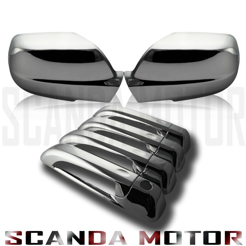 Details About 05 10 Jeep Grand Cherokee Chrome Mirror Cover Chrome Door Handle Cover Chrome Door Handles Jeep Grand Cherokee Door Handles