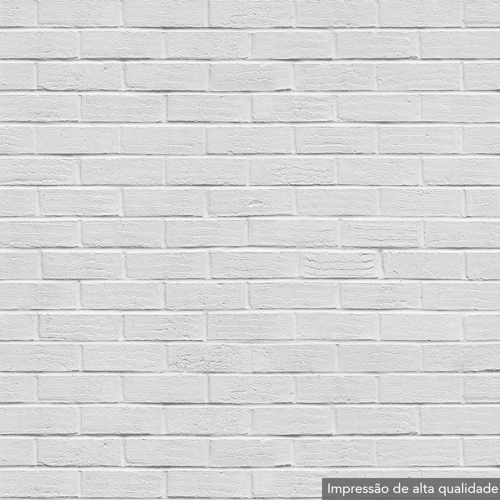 Portas Decoradas Papel De Parede Tijolinho Branco Diy  ~ Papel De Parede Para Quarto Textura