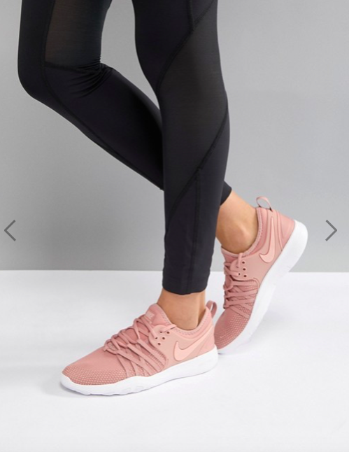 22cf7130fa4a9 Nike Training Free Tr 7 Trainers In Pink