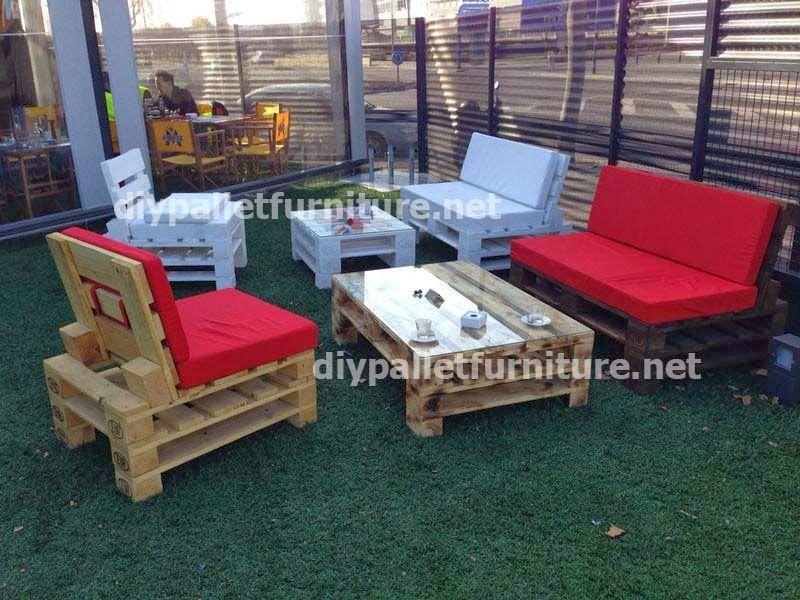 palets muebles pallet muebles de exterior sof palet muebles de jardn paletas de madera sofs destacados barcelona