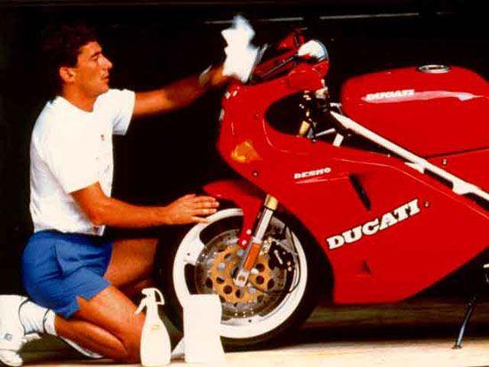 Ayrton Senna - Ducati 851...