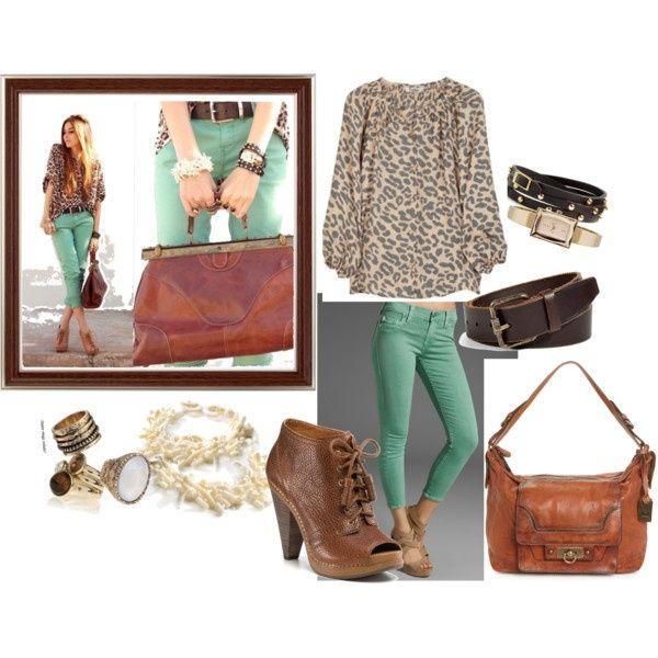 Smooth Mint Green  Cheetah Fashion Inspiration - ...