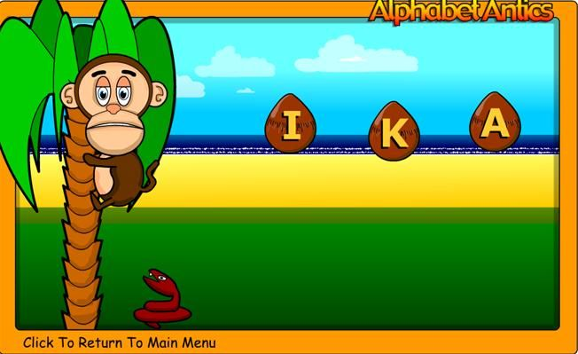Online educational games, phonic games and school games for ...