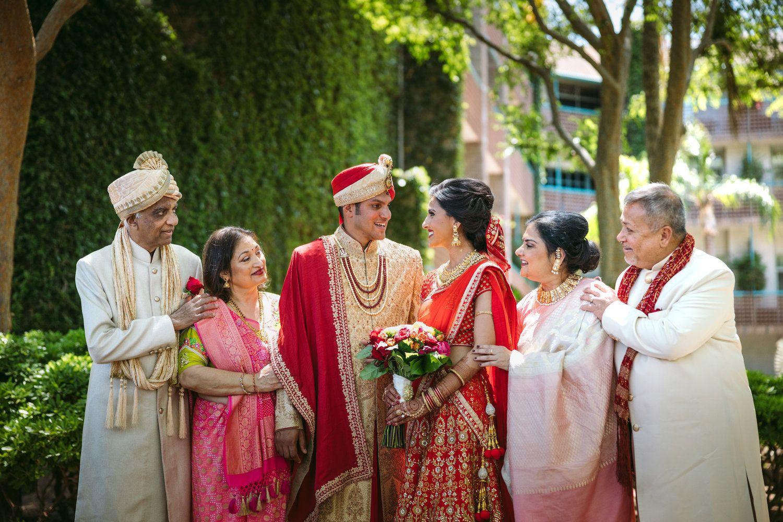 Indian wedding family photos Family wedding photos
