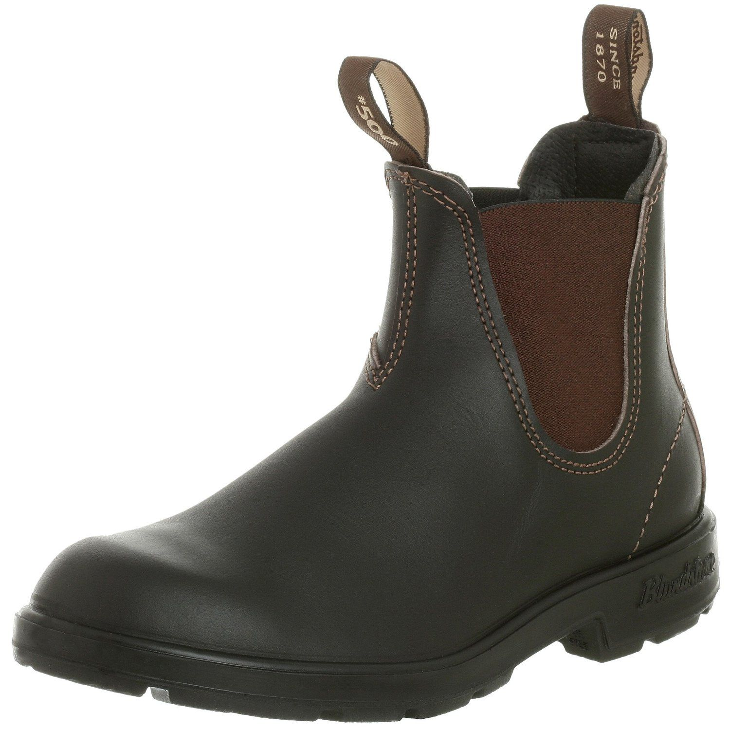 Amazon.com | Blundstone Women's Blundstone 500 Stout Brown Boot | Ankle &  Bootie