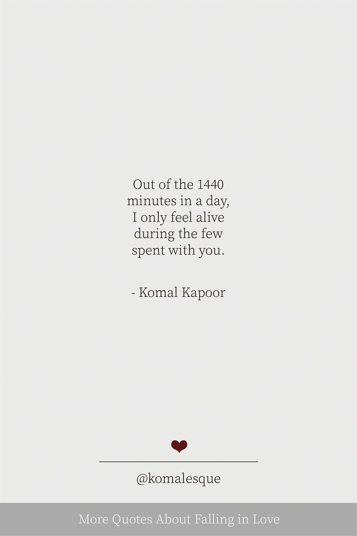 More Quotes About Falling In Love Komal Kapoor Real Love Quotes Love Words For Her Autumn Quotes