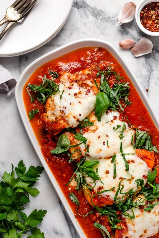 Instant Pot Chicken Parmesan Recipe - Skinnytaste