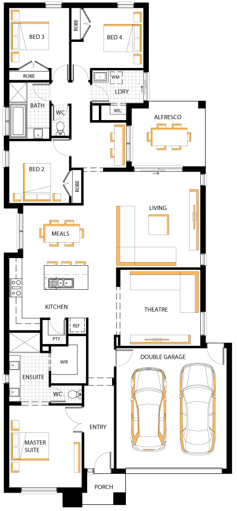 floorplan 25 casa 00 casas peque as casas y dise os