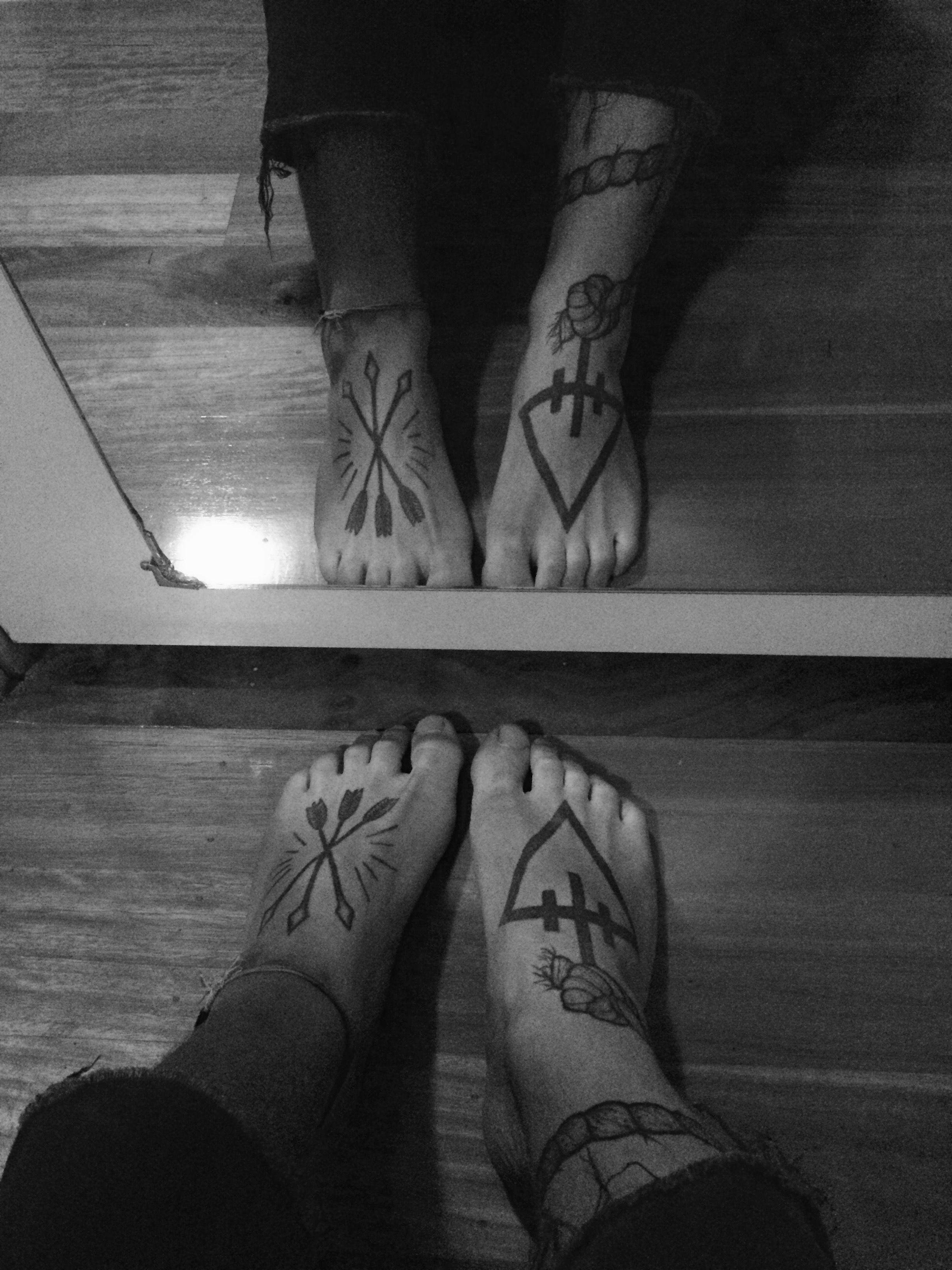 Foot tattoos men arrows tattoo pinterest tattoo