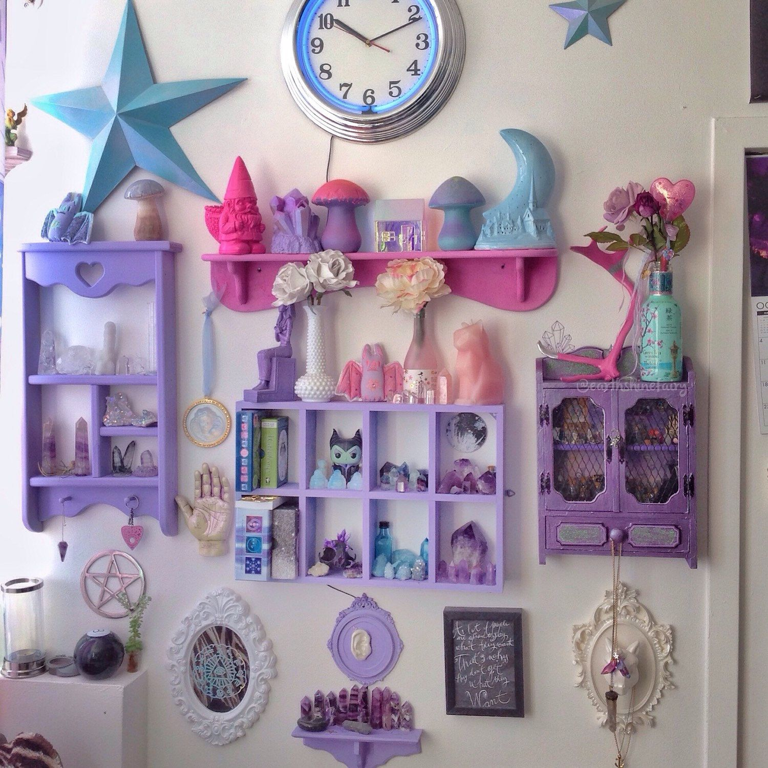 Lotusfairy Shared A New Photo On Etsy Goth Home Decor Pastel Room Pastel Goth Room