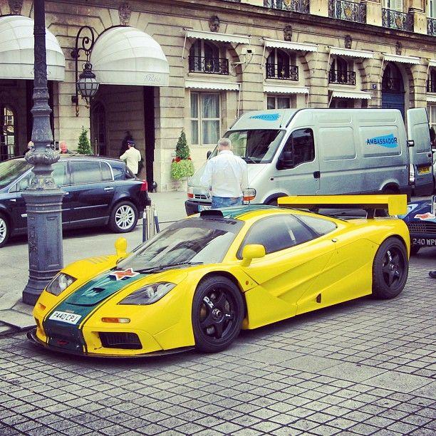 Yellow and Black McLaren F1 GTR | Luxury Lifestyle | Pinterest ...