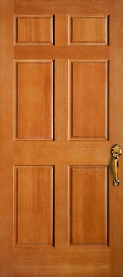 Exterior Solid Douglas Fir 6 Panel 3 4 Raised Panel Door Store America Types Of Doors Exterior Doors Interior Exterior Doors