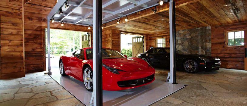 Is This The Coolest Garage Ever Garage Design Luxury Homes