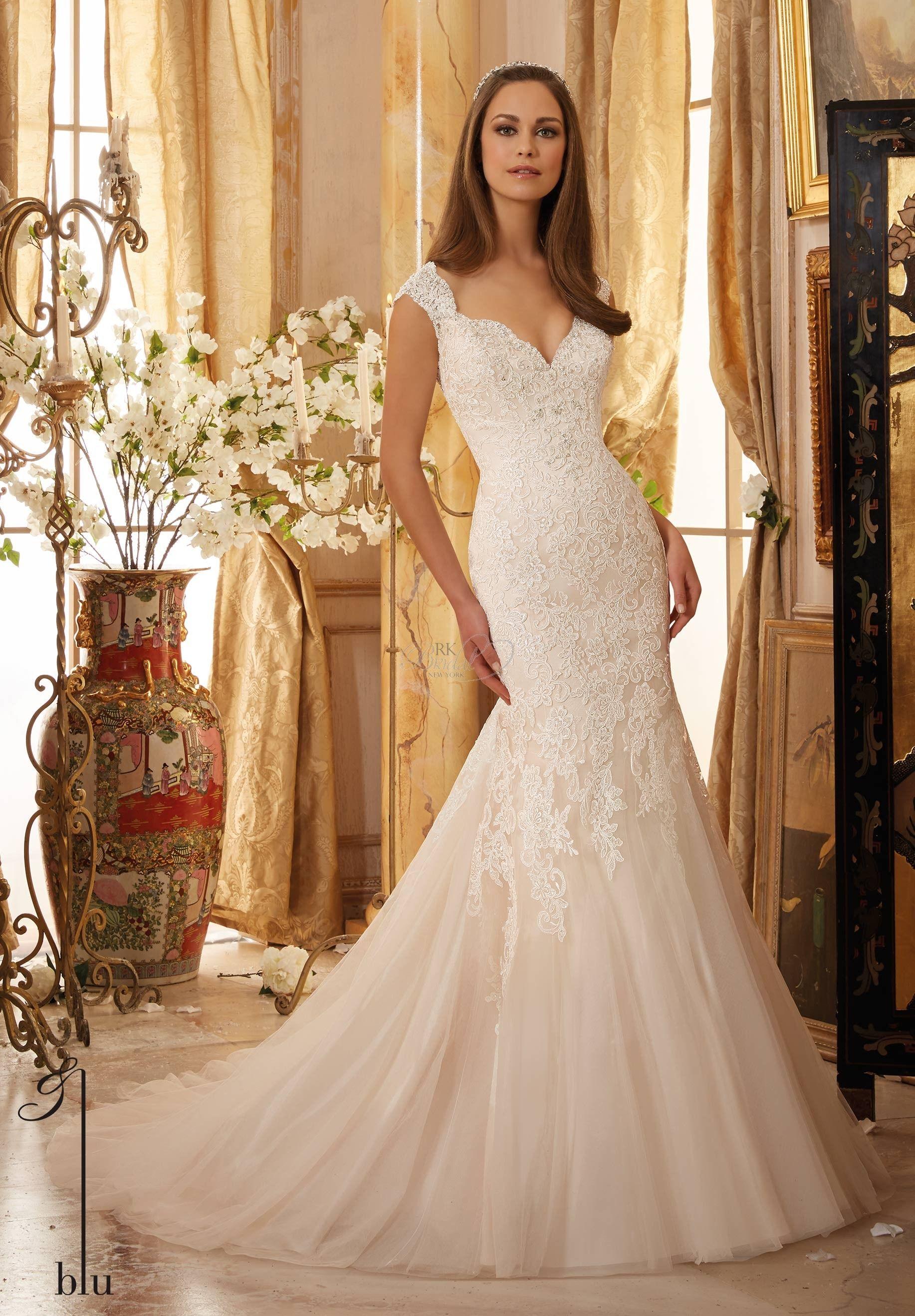 Mori lee gold wedding dress  Mori Lee Blu Collection Spring   Style    RK bridal
