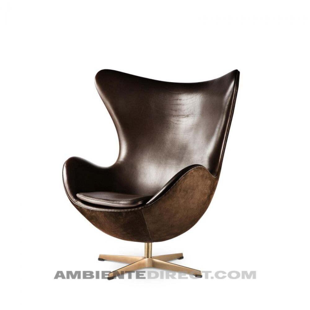 Refurbished Triumph GT6 Black  Office Swivel Chair