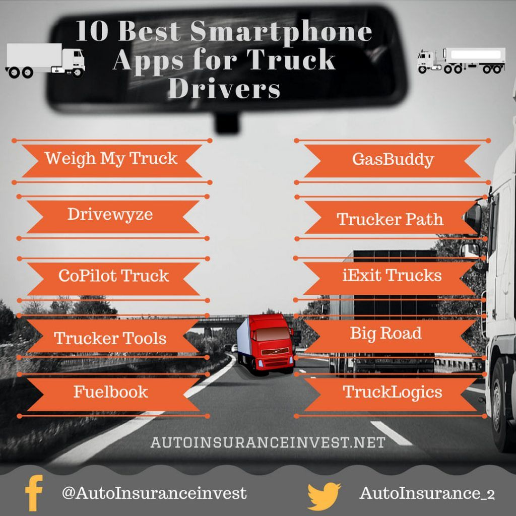10 truck driver apps for android and iphone users truck
