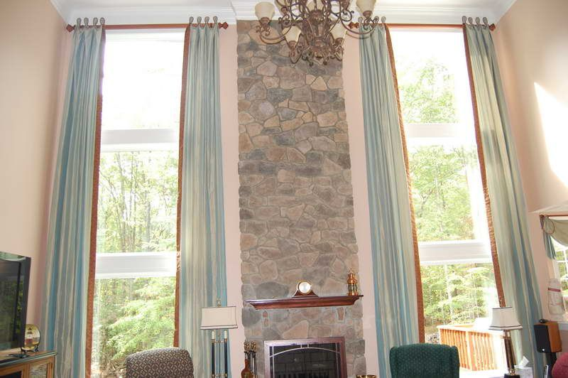 Ceiling Mount Curtain Rod Ideas With