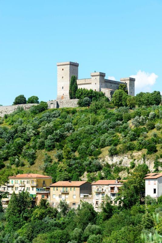 Narni il castello