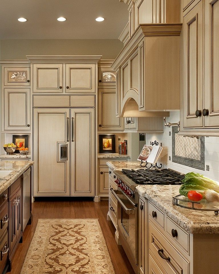 Best 120 Easy And Elegant Cream Colored Kitchen Cabinets 400 x 300