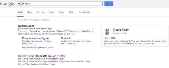 Google Introduce Cambios Visuales En La Pagina De Resultados De Busquedas Google Cambio Y Busqueda De Google