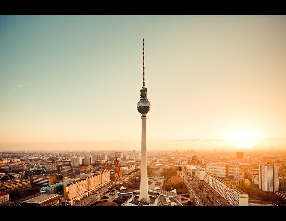 Skyline Alexanderplatz Berlin Photos